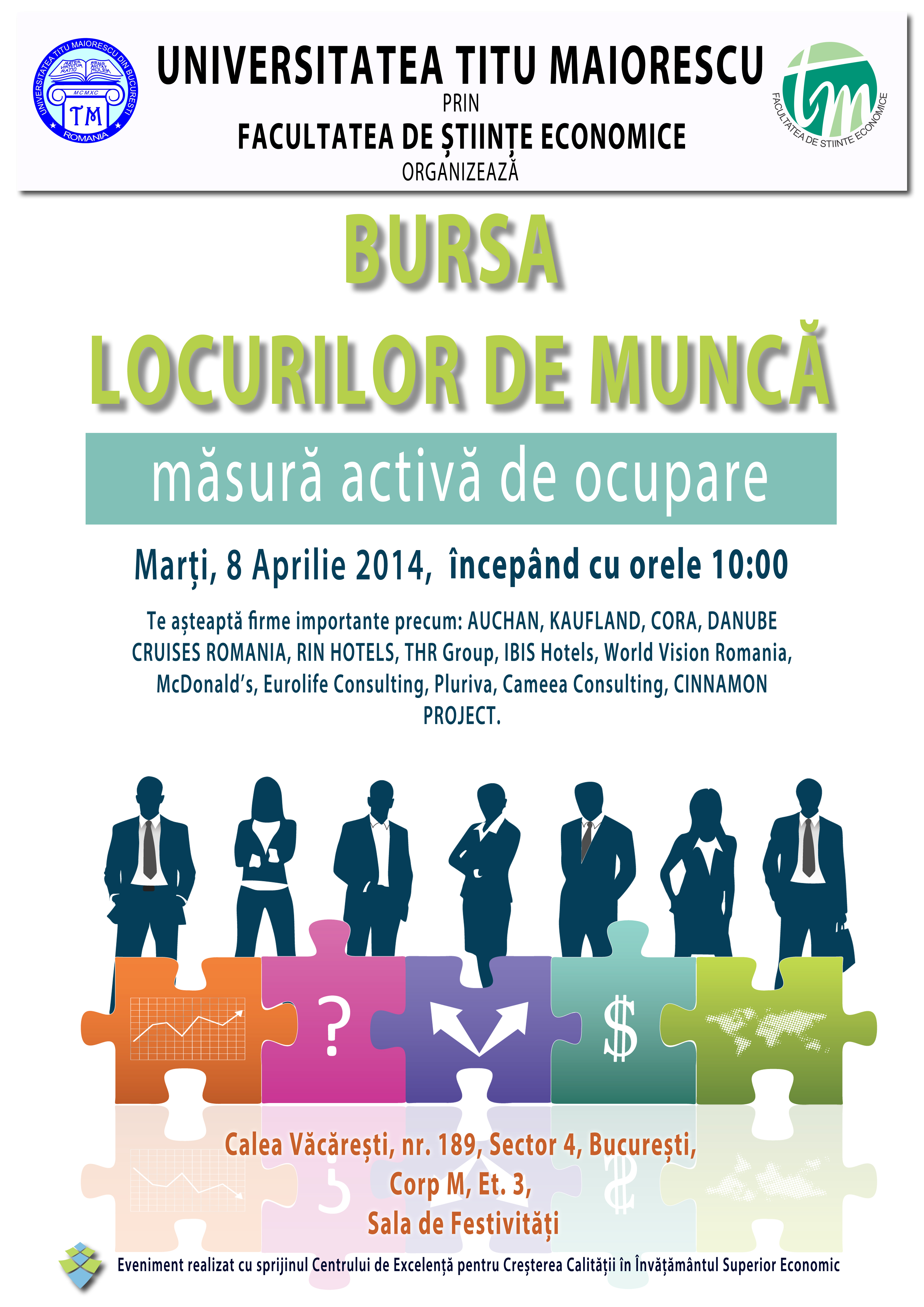 poster - Bursa locurilor de munca